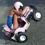 Powerwheels Gone Wild!