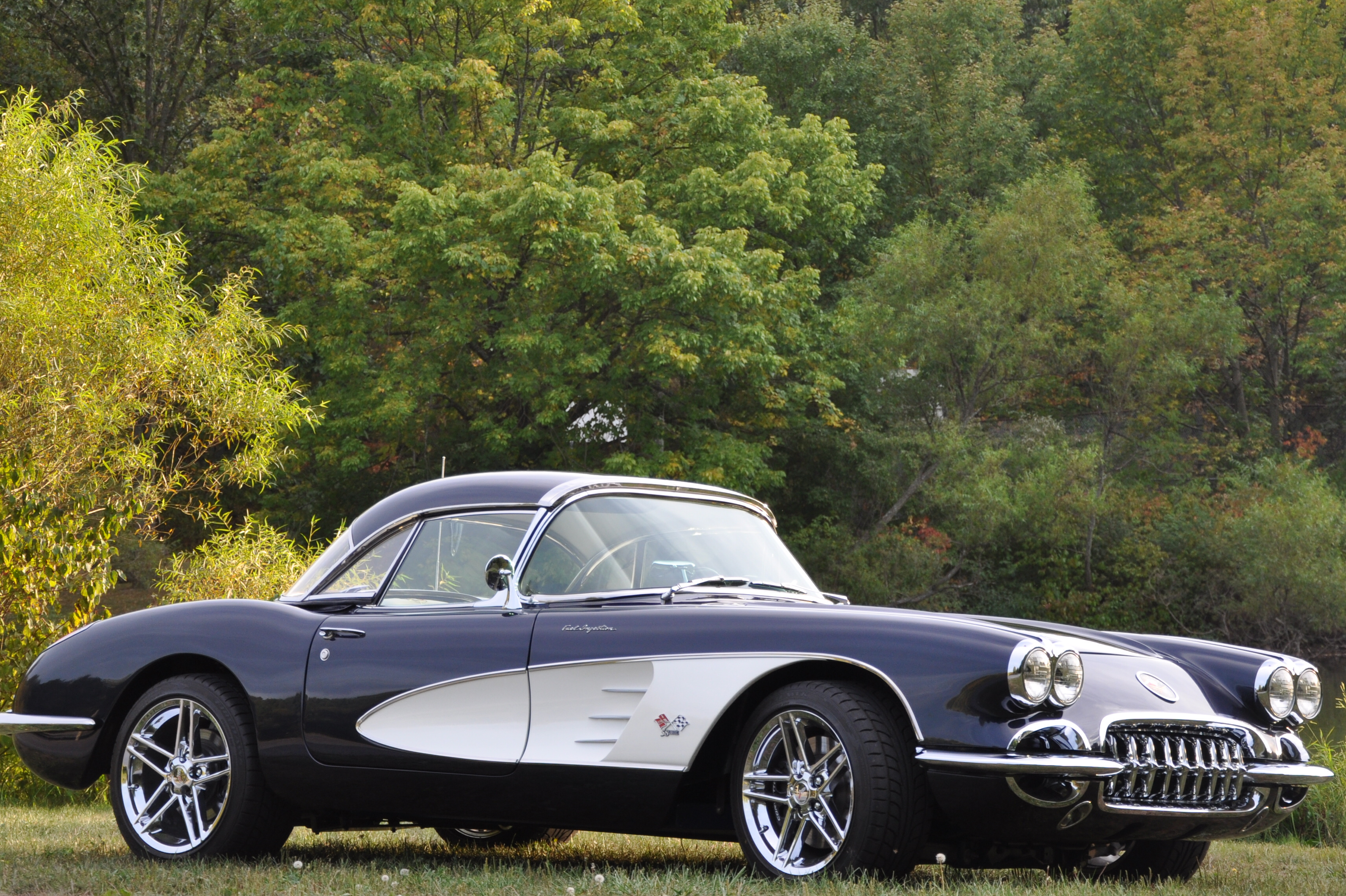 1958 Corvette Restomod Information On Collecting Cars
