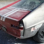 Project Barn Find AMX gets Soda Blasted