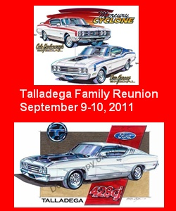 Photo of Registration Due for 2011 Talladega Family Reunion