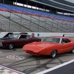 Dodge Daytona, Superbird, Talladega and Spoiler II at Texas Motor Speedway