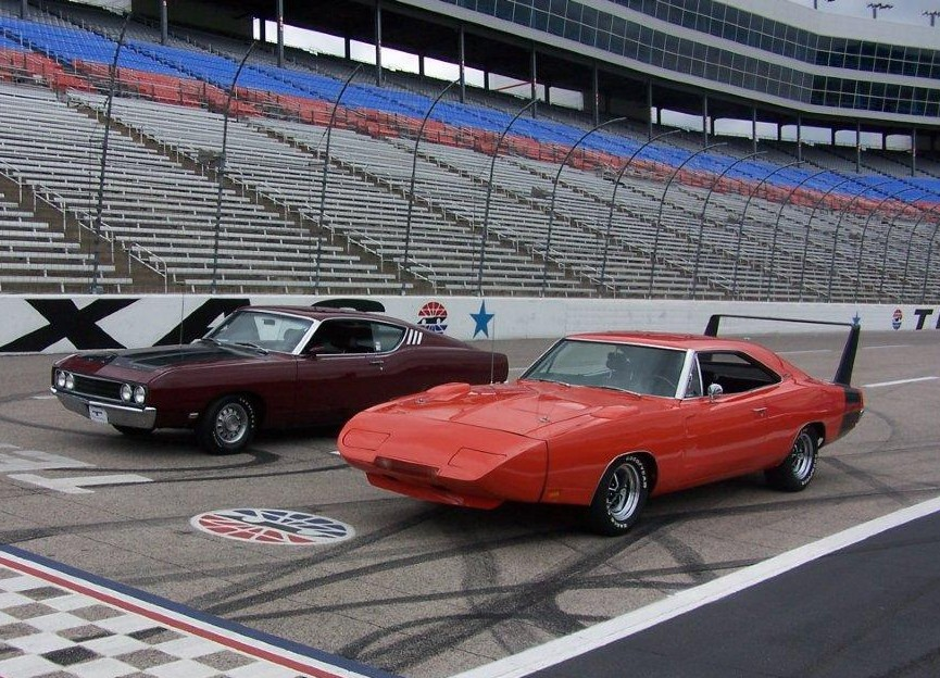 Photo of Dodge Daytona, Superbird, Talladega and Spoiler II at Texas Motor Speedway