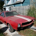 Project Barn Find AMX is off to Paint!