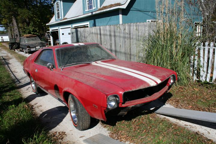 Photo of Project Barn Find AMX is off to Paint!