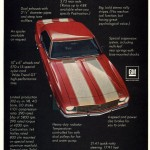 Back Tracking 1968 Camaro Z28 Sports Car Graphic