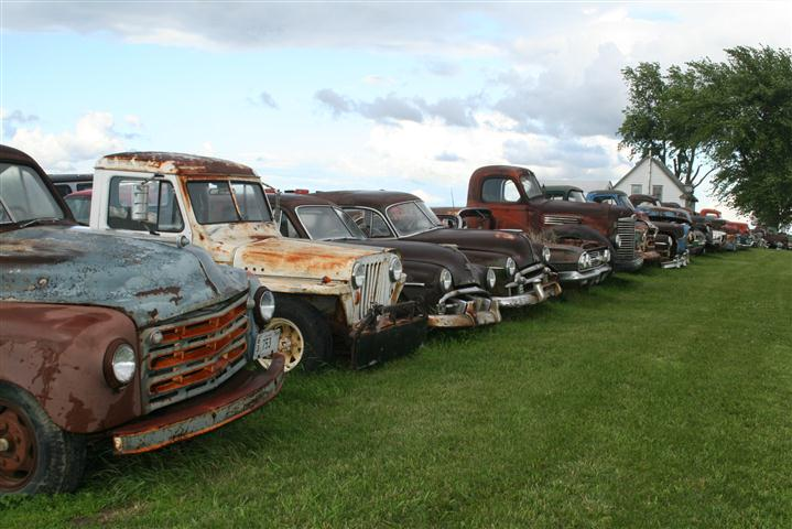 "Photo of ""Barn Finds"" in a Pasture!"