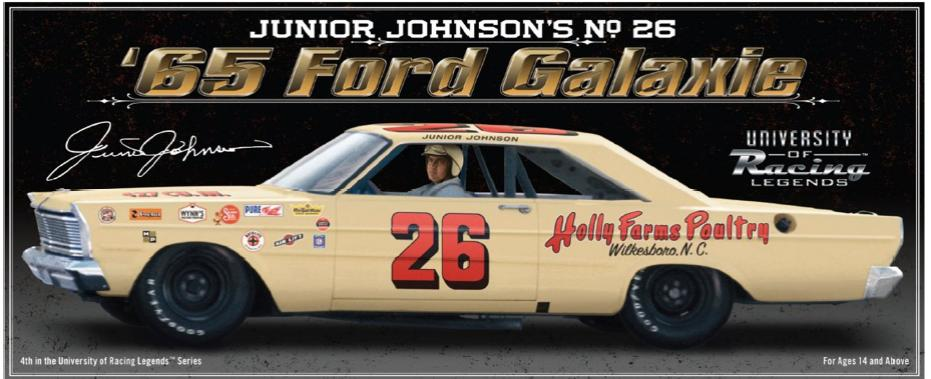 Photo of Junior Johnsor 1965 Ford NASCAR Diecast SOLD OUT