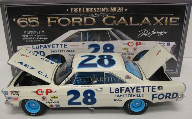Photo of Autographed Fred Lorenzen Diecast Now Available