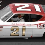 Autographed Cale Yarborough Diecast #21 Cyclone