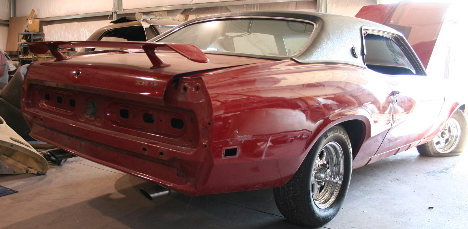 Photo of 1969 Mercury Cougar Project Car