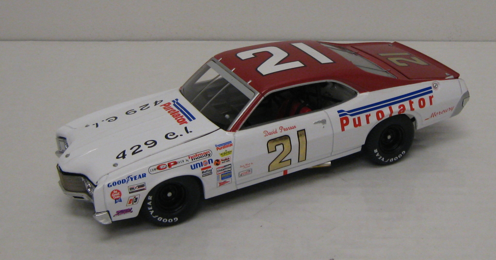 Photo of David Pearson Wood Brother #21 Diecast
