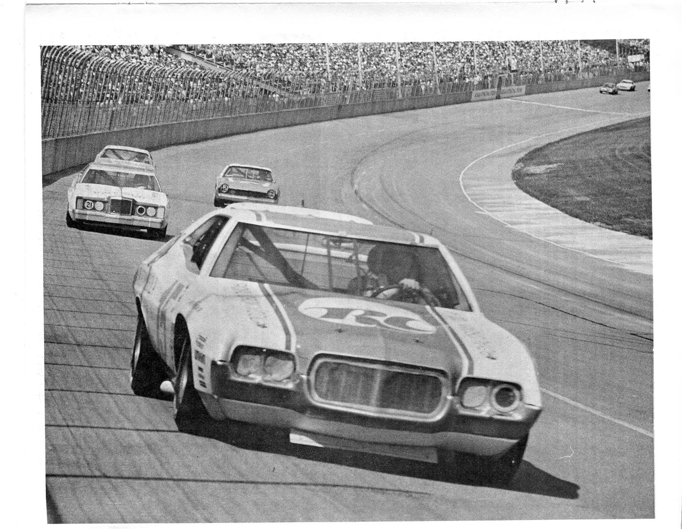 Photo of 1973 Ford Torino-Speedway Newsletter