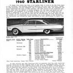 1960 Ford Starliner