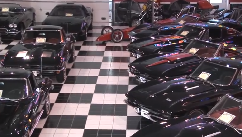 Photo of Black Corvettes