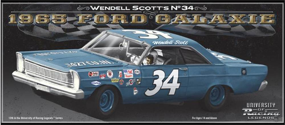 Photo of Wendell Scott Diecast