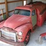 New Project: 1954 GMC Fuel Tanker Truck