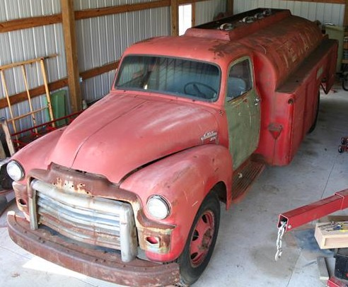 Photo of New Project: 1954 GMC Fuel Tanker Truck