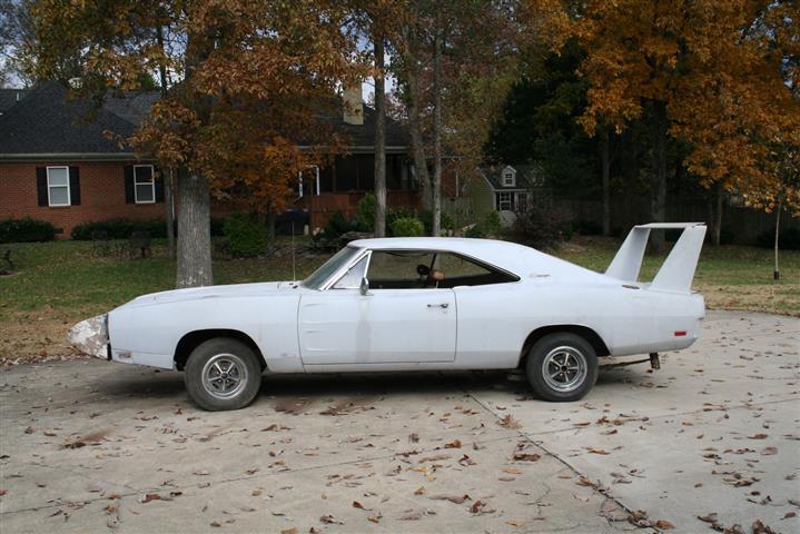 1969 Dodge Charger Daytona Project Car Part 3