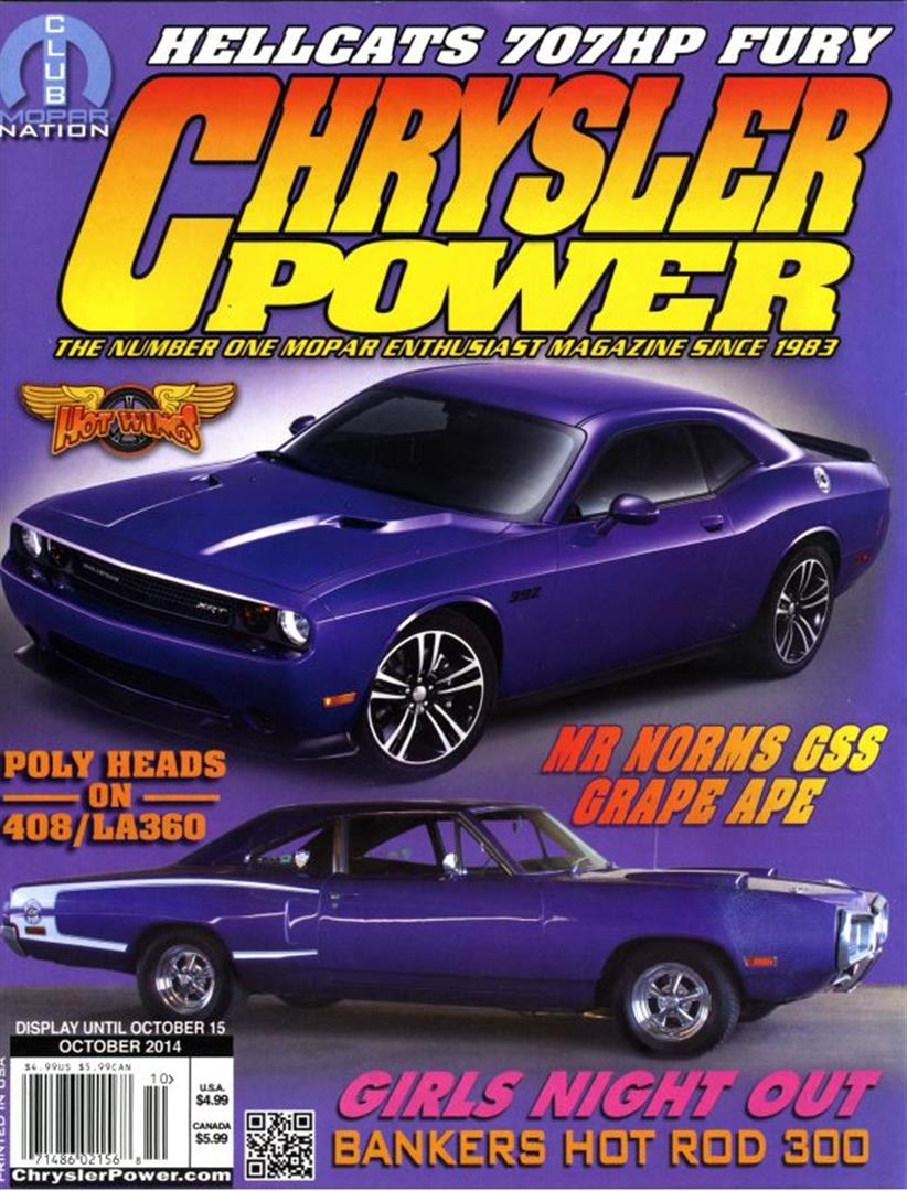 Photo of Chrysler Power Magazine