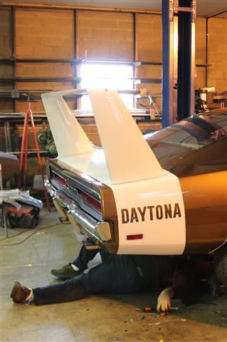 Photo of Project Nuremberg Dodge Daytona; Part 19
