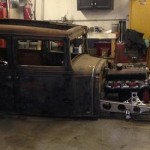 What are you working on? Rat Rod!