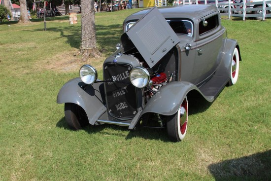 My favorite hot rod at the show was this really clean 3 window.