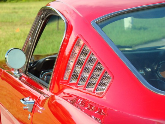 This fastback roof line is a classic.