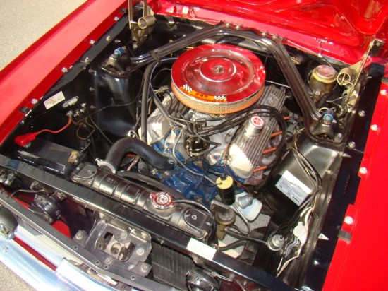 289 K Code is a rare and very desirable engine.