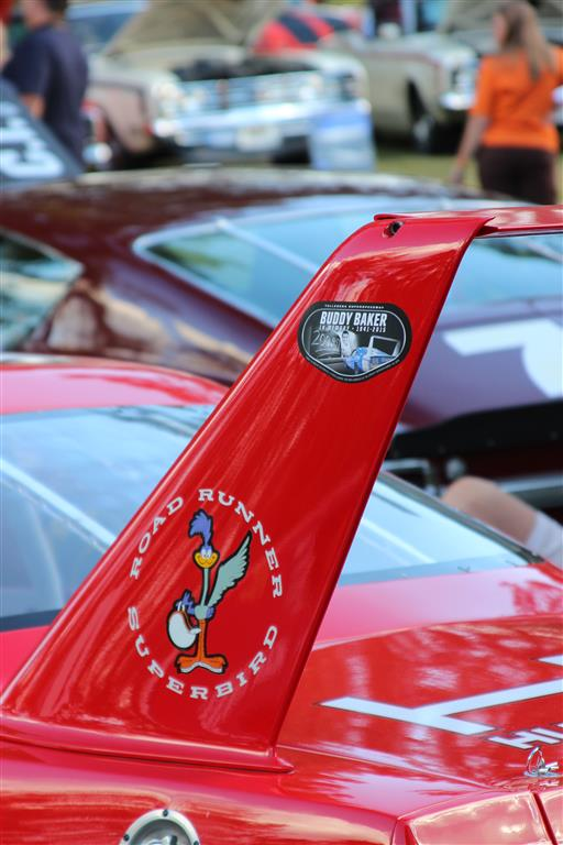 The weekend included a tribute to Buddy Baker and decals were provided for every participating car.