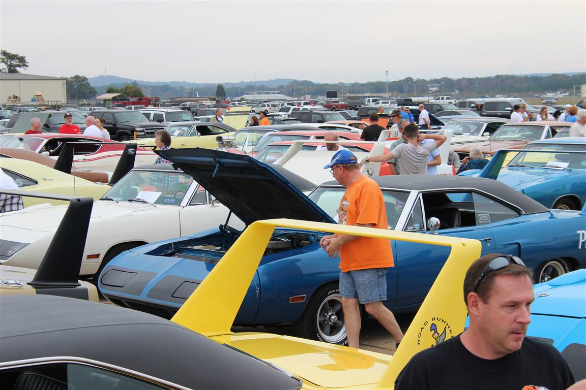Have you ever seen this many Winged cars in one location?