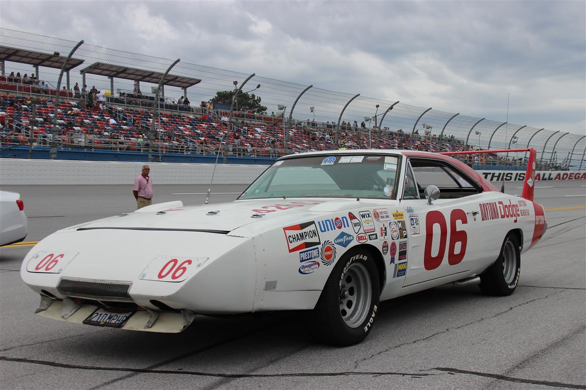 This tribute Daytona does regular track and street duty.