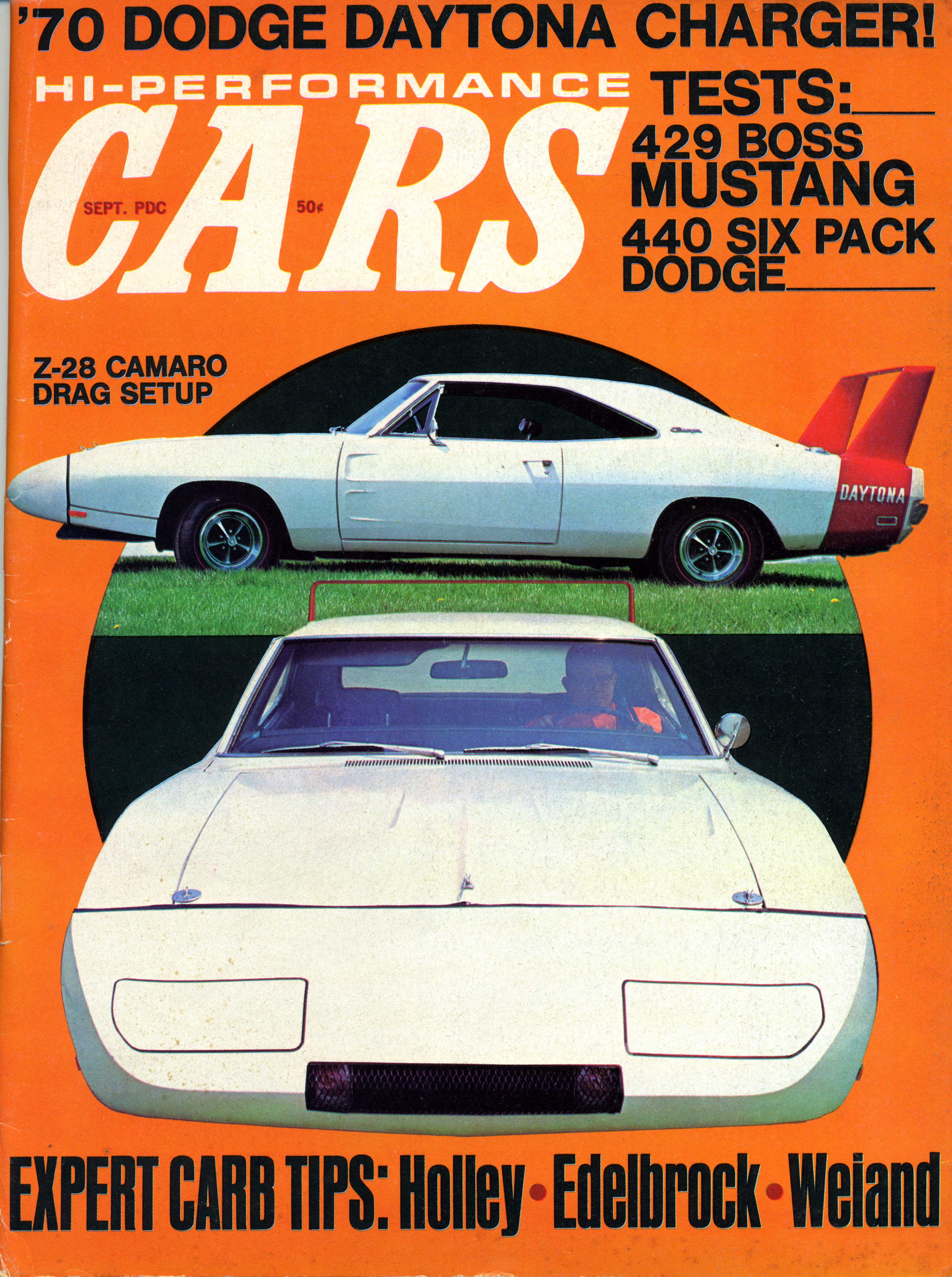 Photo of 1969 Dodge Daytona Original Preview Article; CARS Magazine