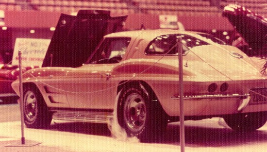 This is our mild custom 1963 Corvette Split Window from the early 1970's. It did everything from be a daily driver to first place winning show car to formidable race car.