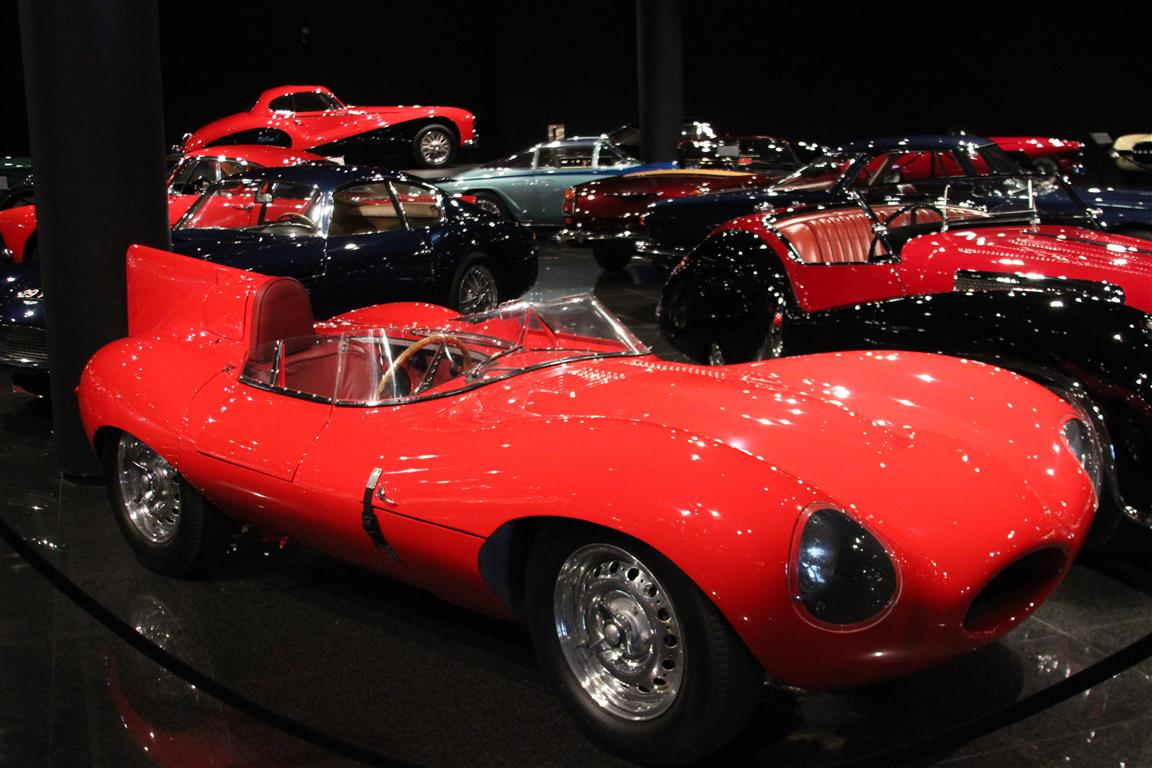 Jaguar D-Type; I have loved this design since I built it as a plastic model while in elementary school.
