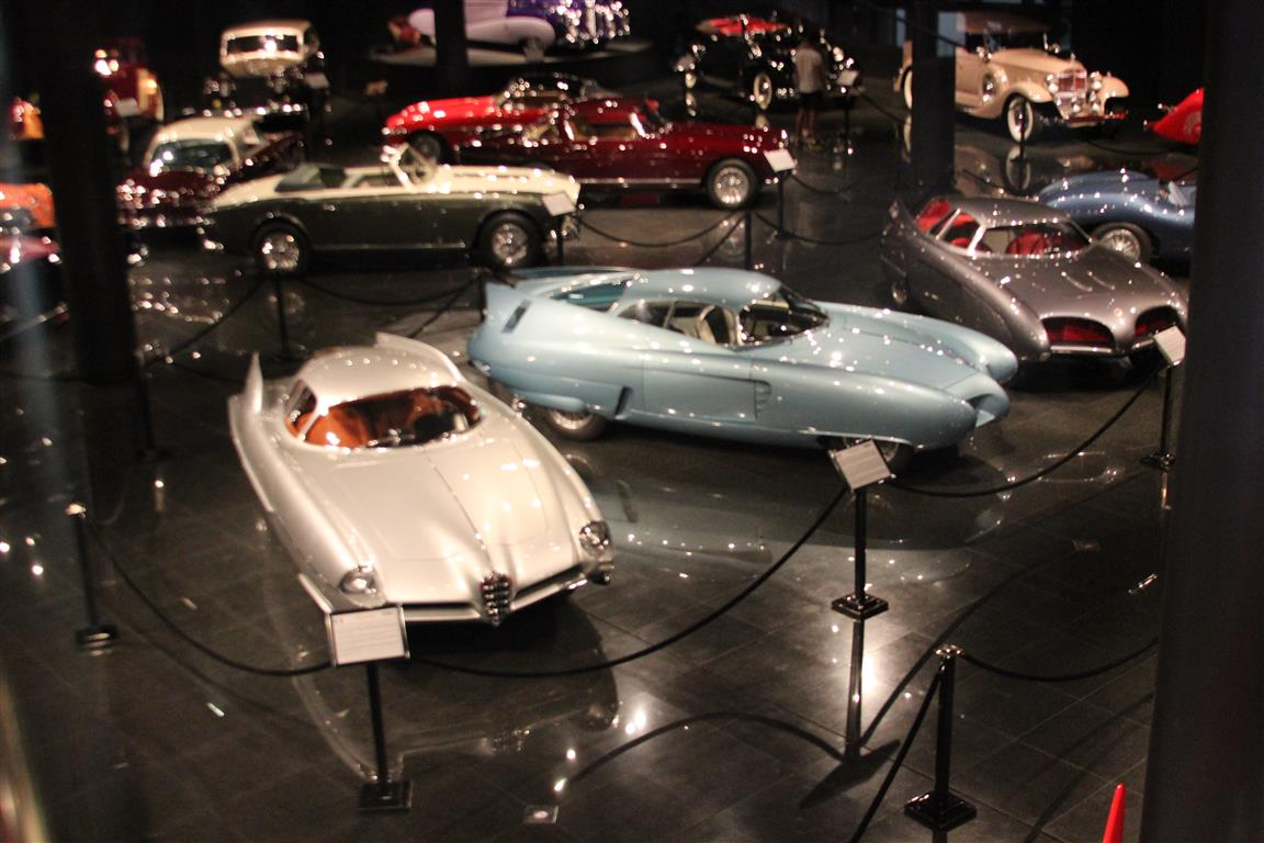 """The Alfa """"Bat"""" cars kept drawing me back to them to study more and more of their details."""