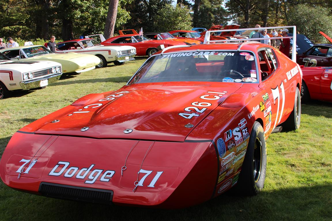 1969 Dodge Charger Daytona driven by 1970 Nascar Champion Bobby Issac.