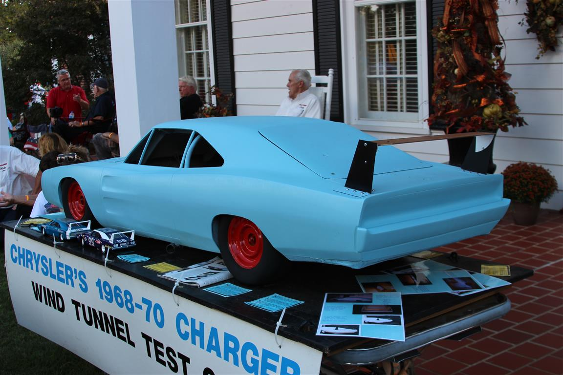 1969 Dodge Charger Daytona 3/8 scale wind tunnel test car model.