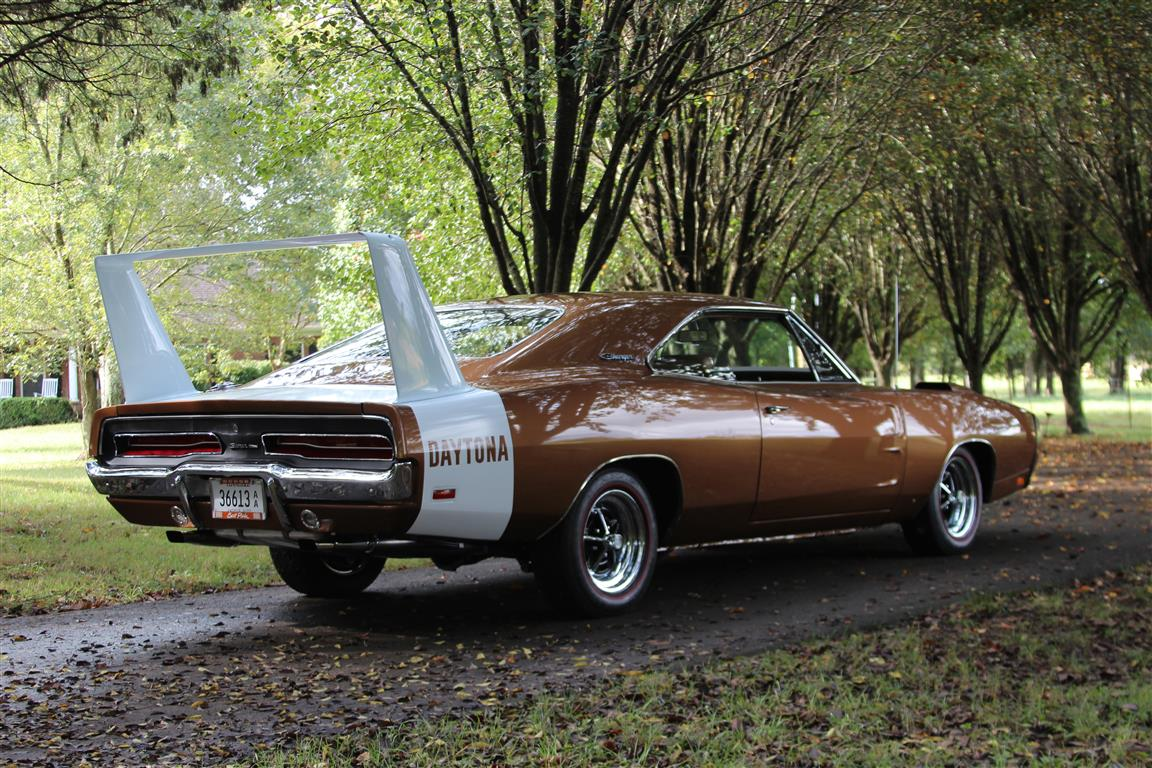 Street version of the 1969 Dodge Charger Daytona.