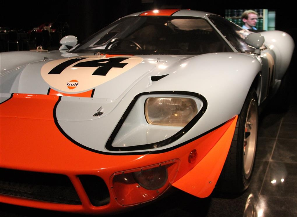 Photo of 1967 Ford GT40 Mirage in Gulf Oil Livery