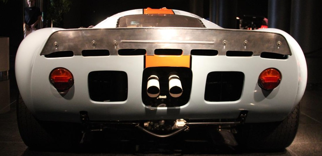 Ford Gt Mirage In Gulf Oil Livery At The Black Hawk Automotive Museum