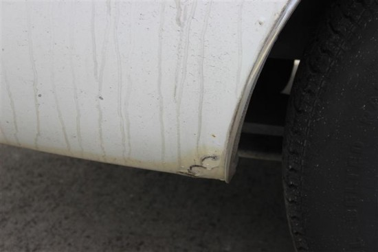 This is typical of the rust found in the body.
