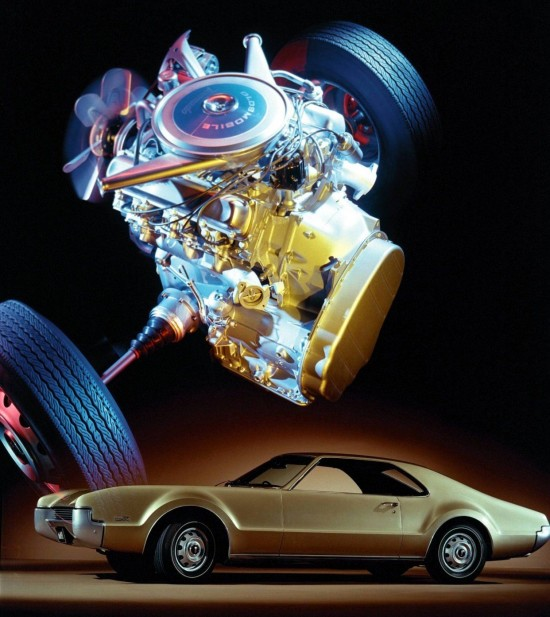 1966 Oldsmobile Toronado, front wheel drive