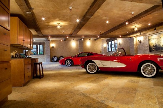 This a is simple, tasteful and expensive Man Cave.