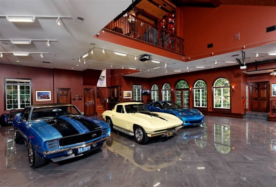 I have not visited this garage in person but I have seen a similar version with the balcony above and I really like this approach if you have the room and the money.