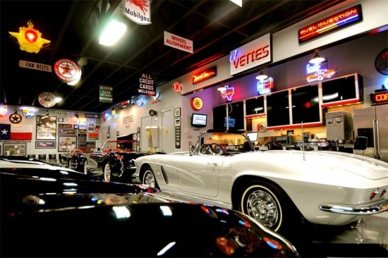 Another view of this Corvette Man Cave.