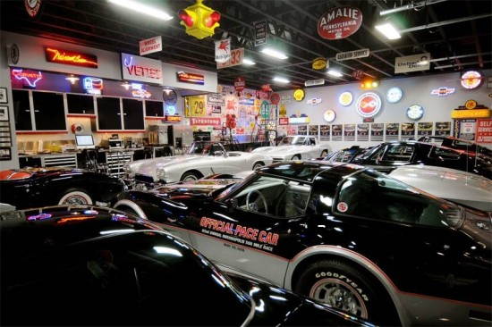 If you love Corvettes here is a Man's Cave for you.