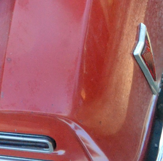 One of my faforite details of any car from the period is the emblem shaped running lights on the original Firebirds.