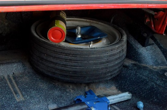Do you remember the space saver tire and the little canister you depended on to inflate it in case of an emergency?