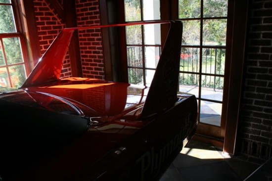 There is something about a winged car that adds appeal to any room.