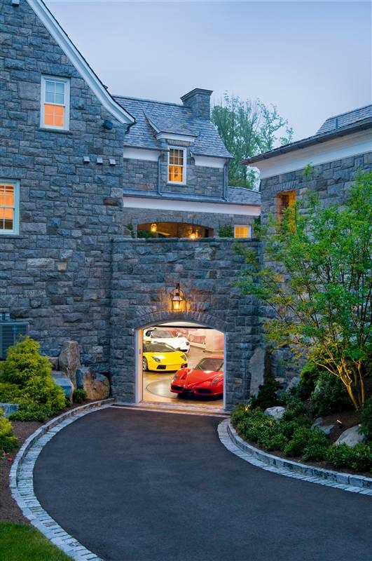 This driveway and open garage door only hints at the treasures and fun contained within its walls.